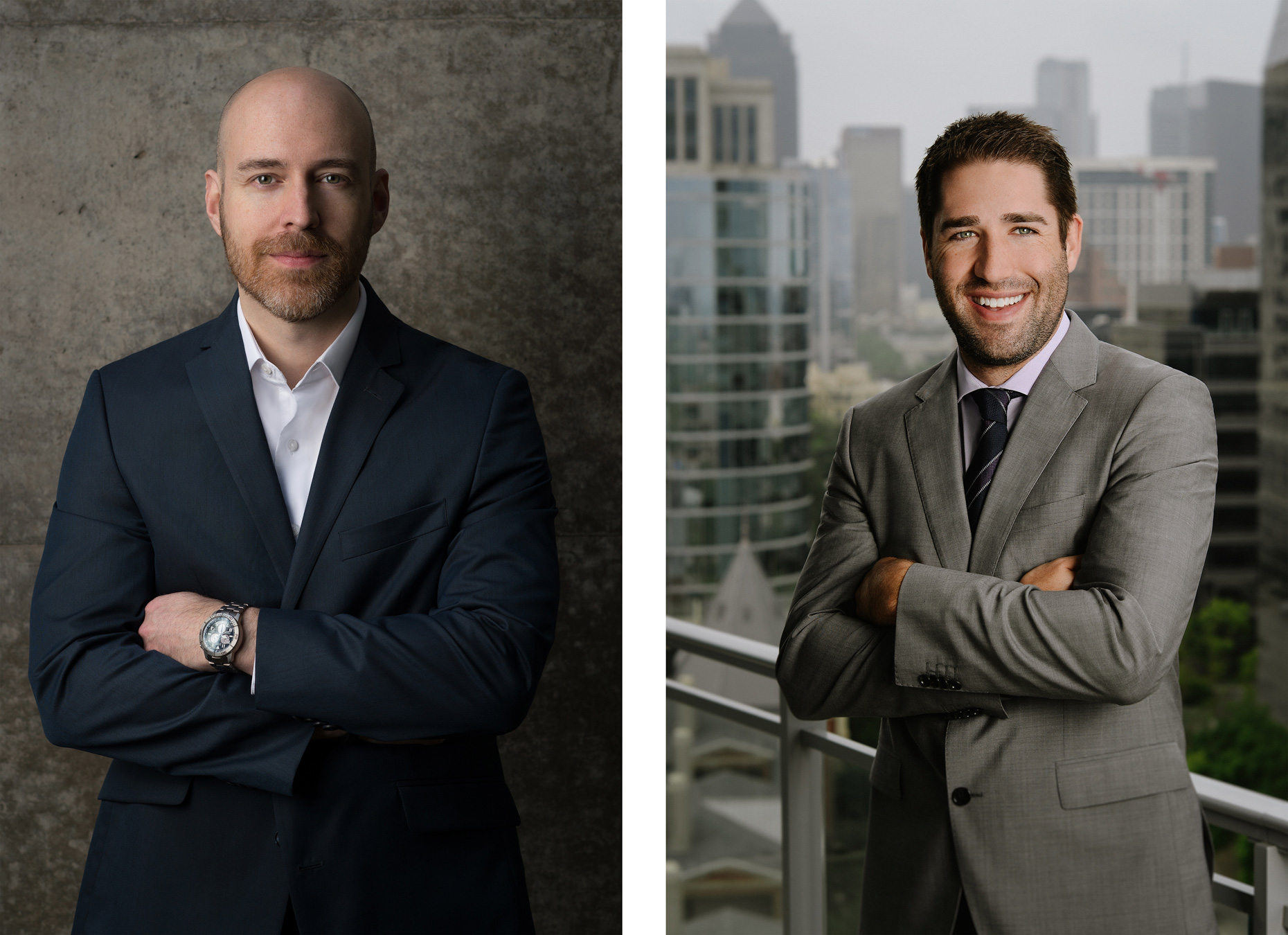 Executive portrait photography for Beck and Mahaska in Dallas by Kevin Brown.
