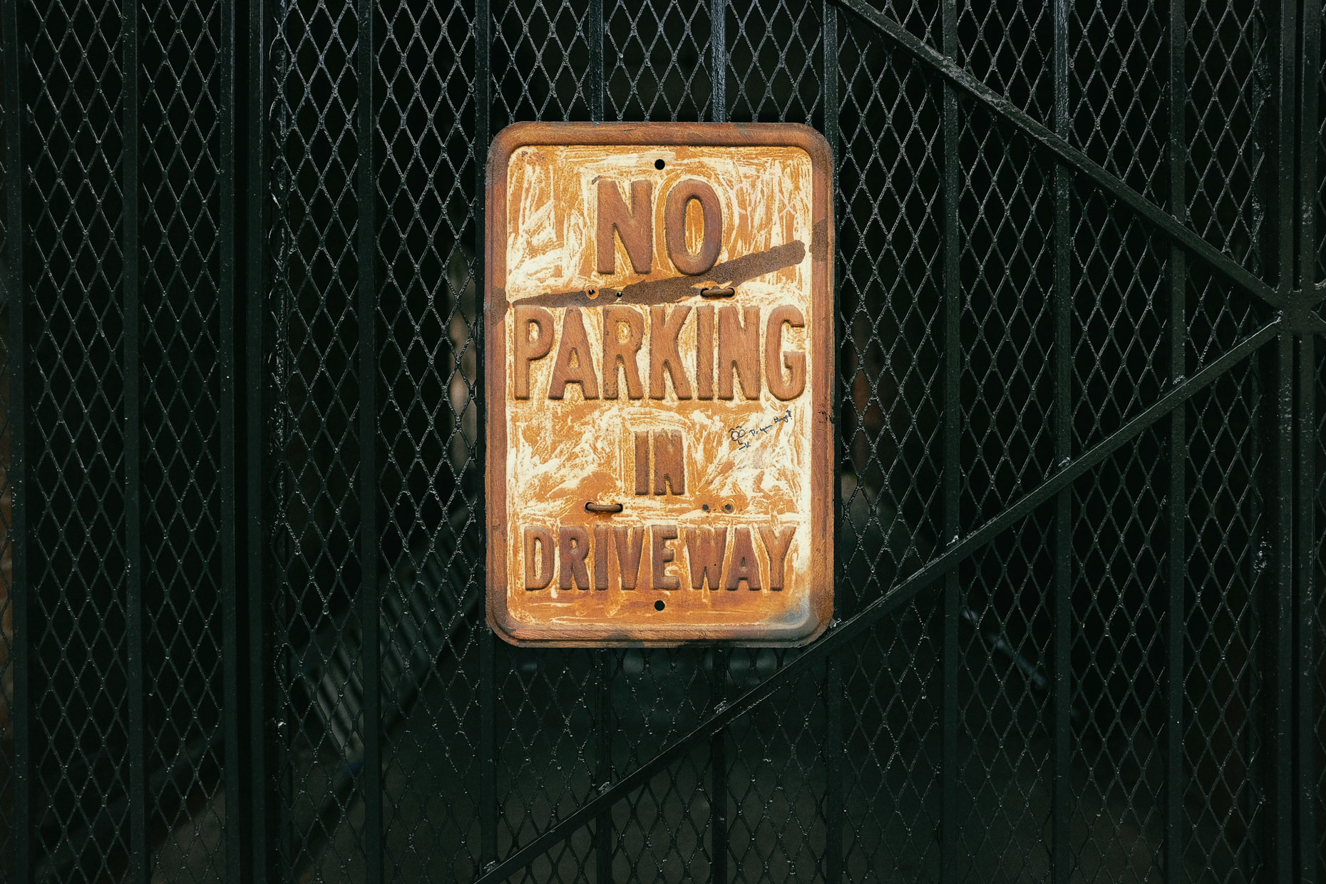 No Parking in New Orleans by photographer Kevin Brown