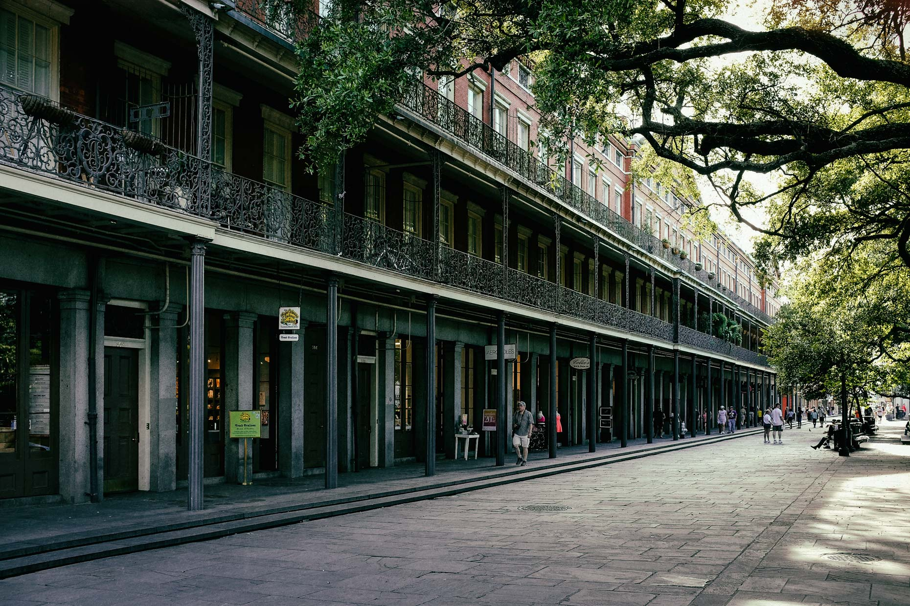 Jackson Square in New Orleans by photographer Kevin Brown