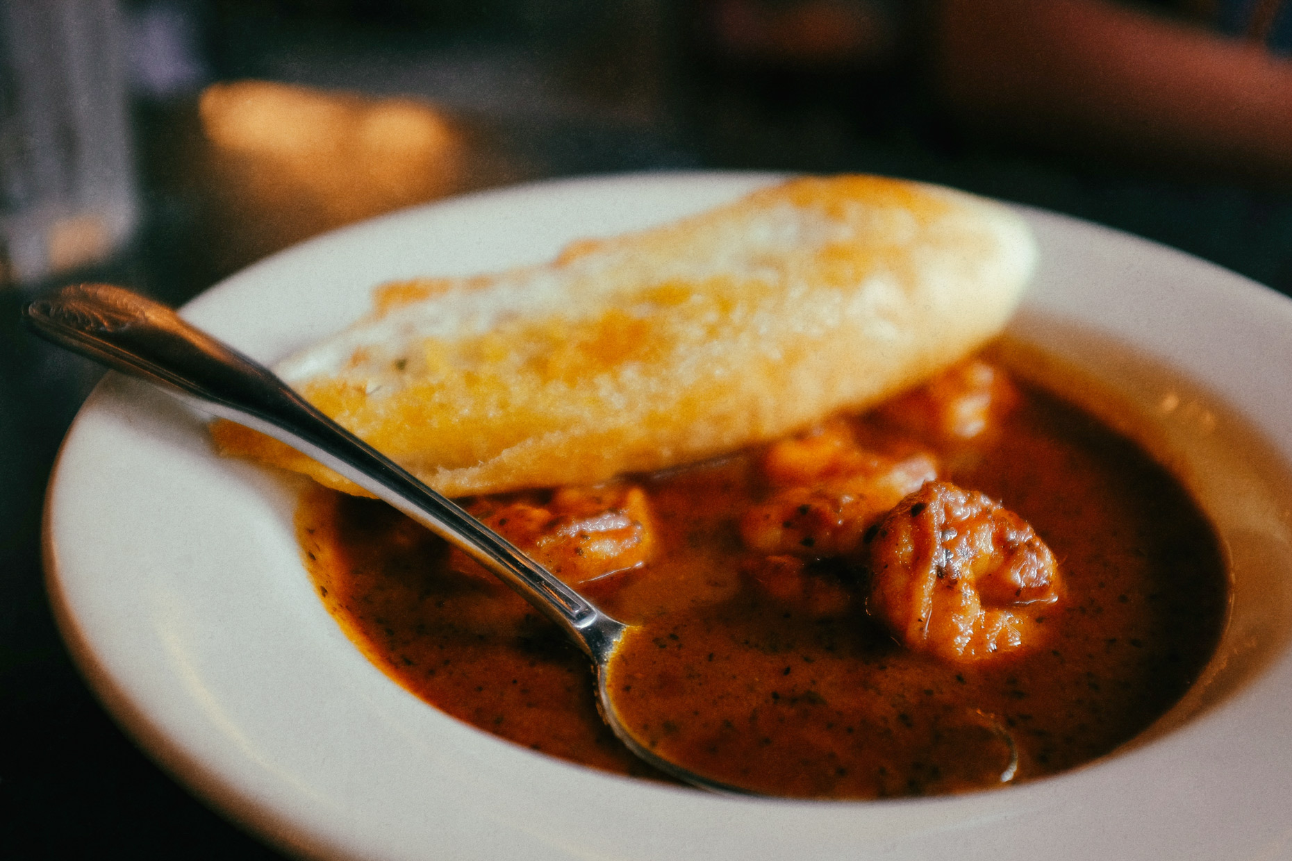 Cajun dining in New Orleans by photographer Kevin Brown