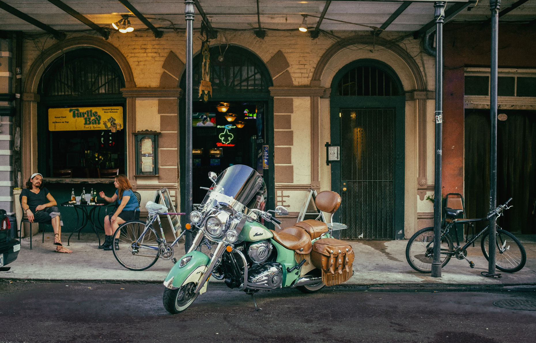 Street view in New Orleans by photographer Kevin Brown