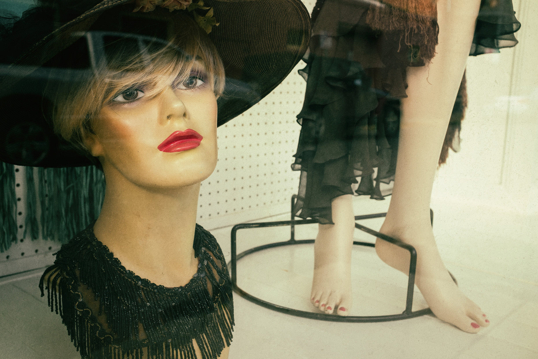 Mannequin in New Orleans by photographer Kevin Brown