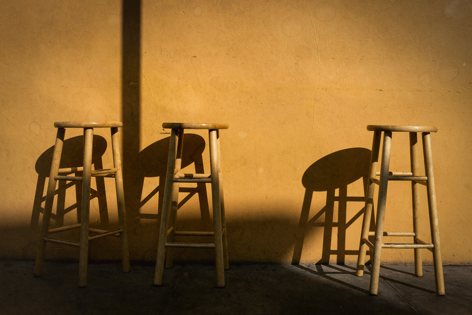 Stools in New Orleans by photographer Kevin Brown