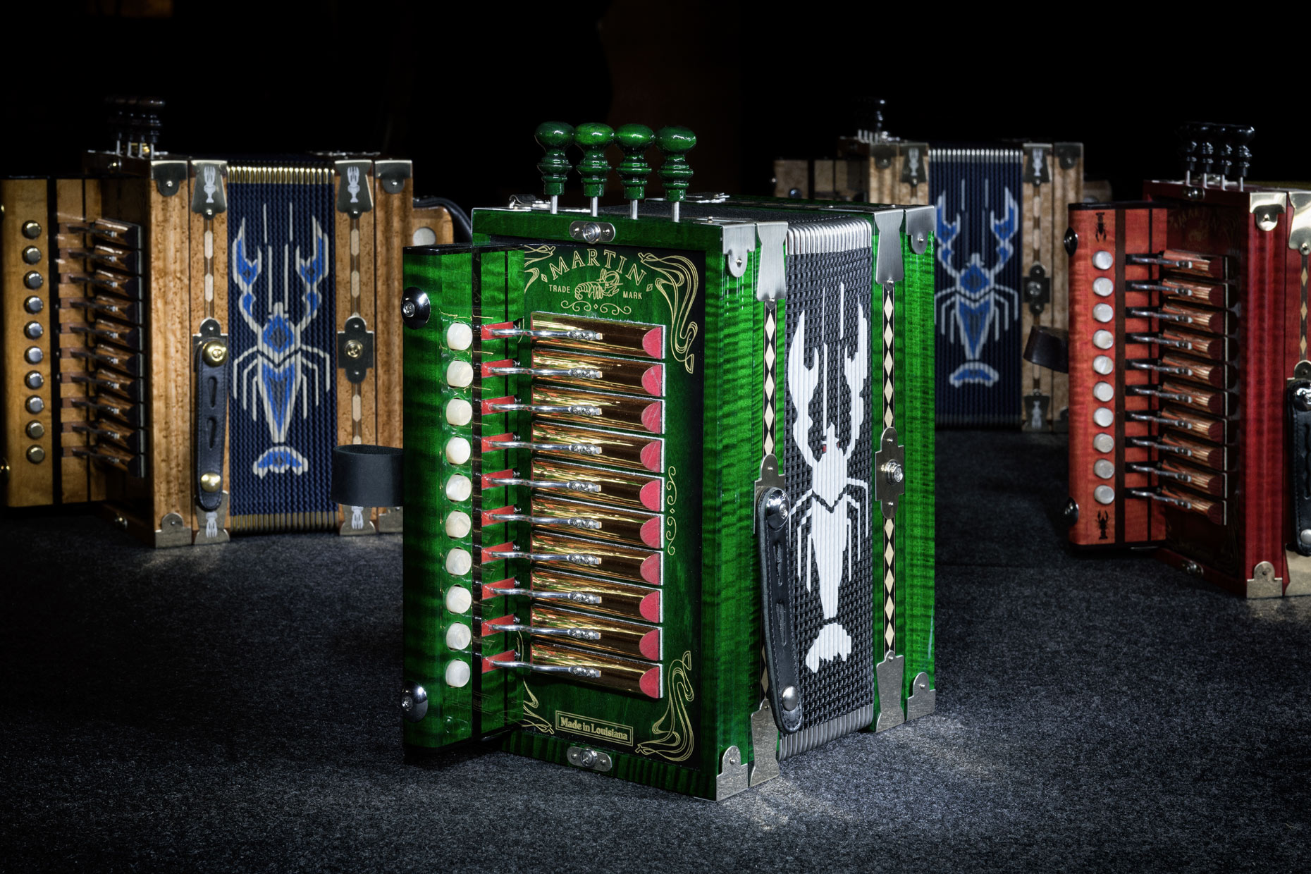 Martin Accordions by editorial photographer Kevin Brown.