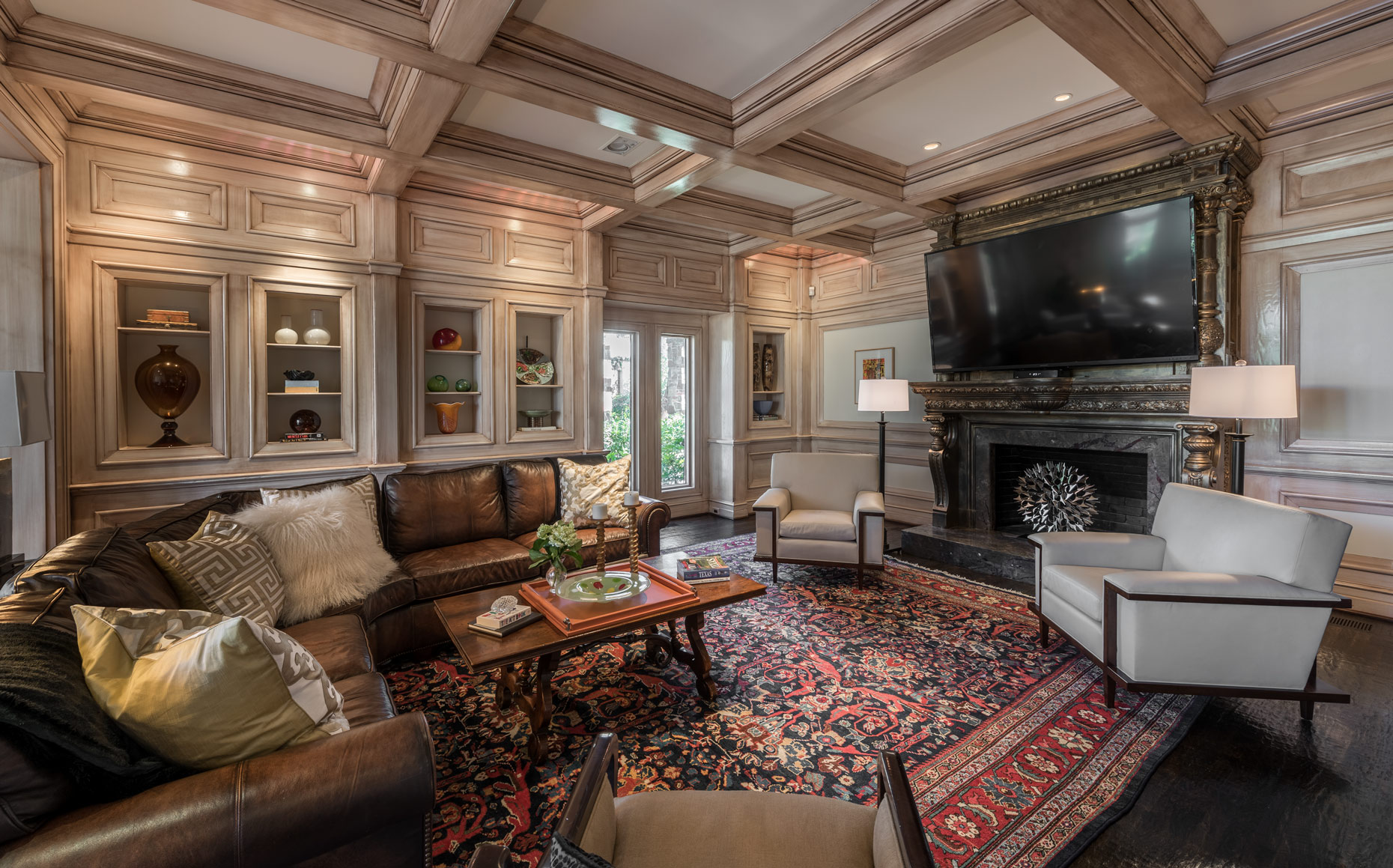 Interiors by Dallas architectural photographer Kevin Brown