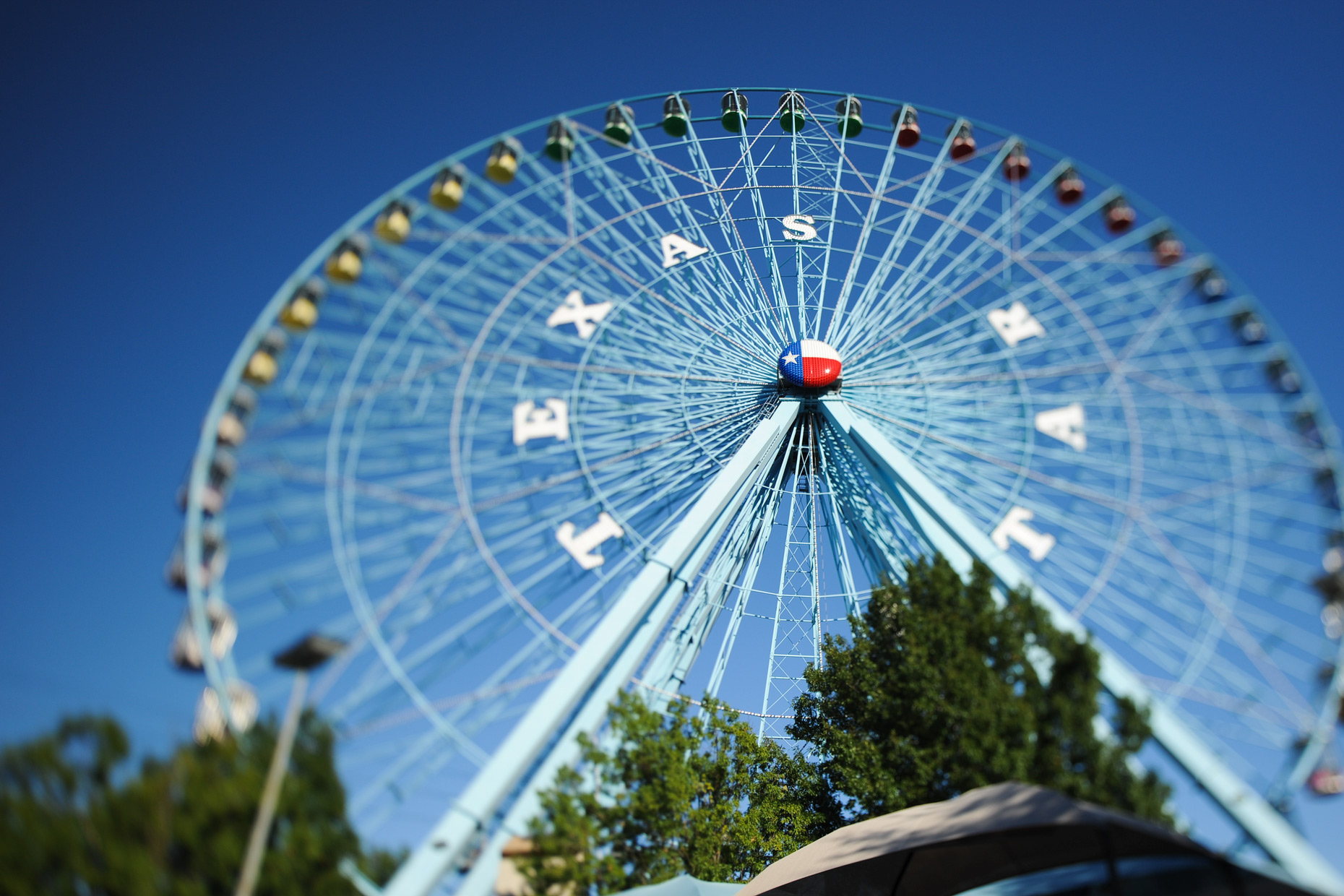 The Texas Star Ferris Wheel at The State Fair of Texas. Photography by Kevin Brown
