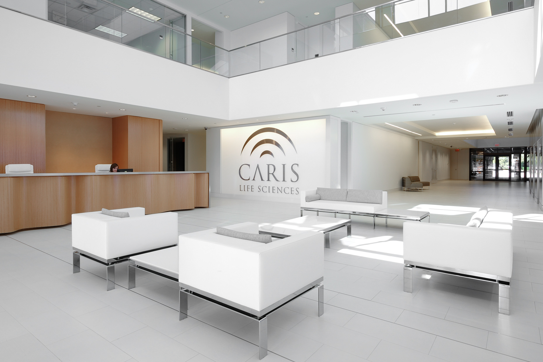 Caris Life Sciences by Dallas architectural photographer Kevin Brown
