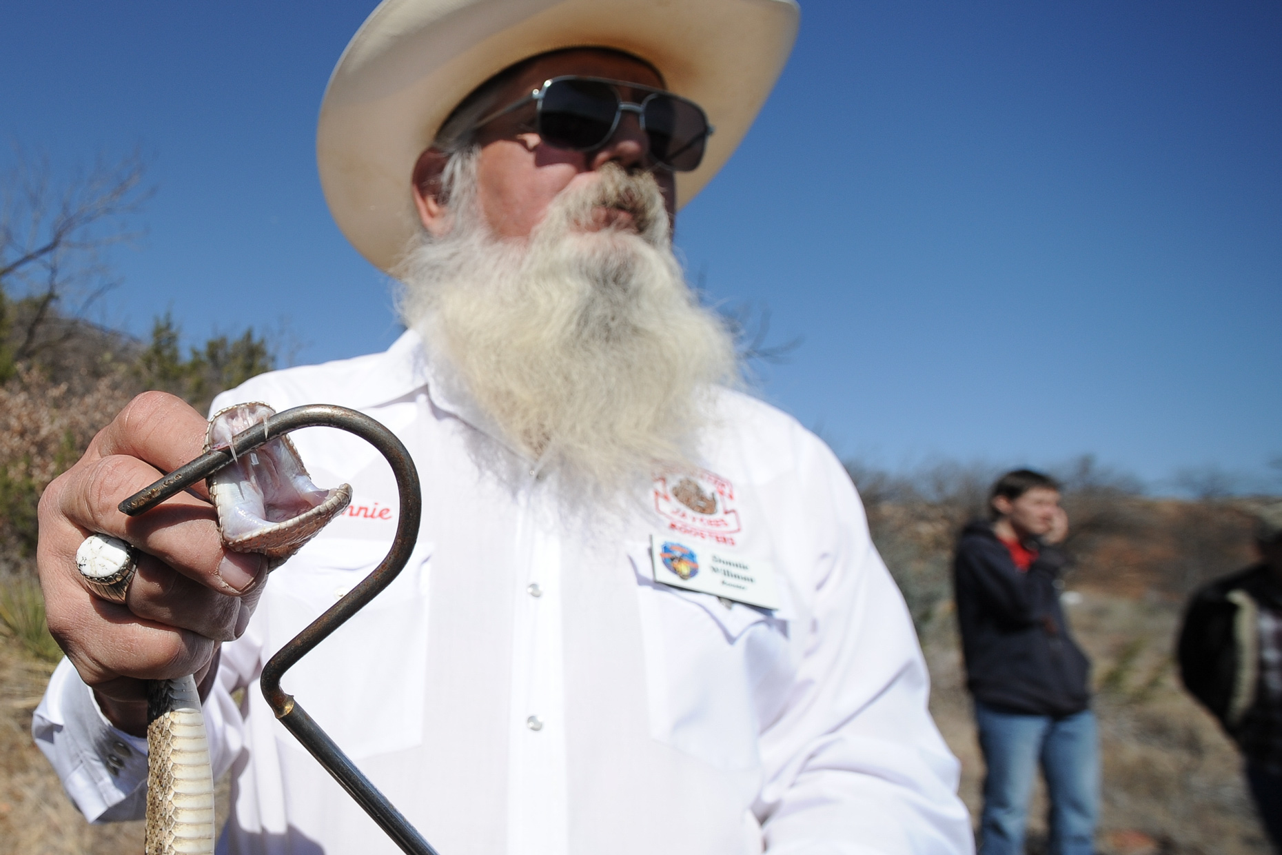 Sweetwater Rattlesnake Roundup photo series by editorial photographer Kevin Brown