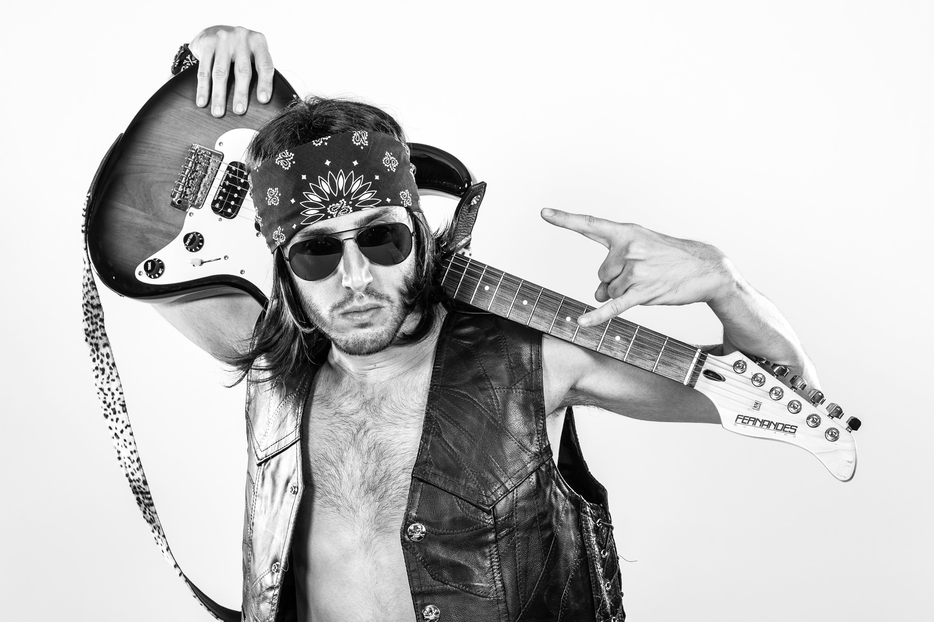 Guitar Hero Rock Star by photographer Kevin Brown