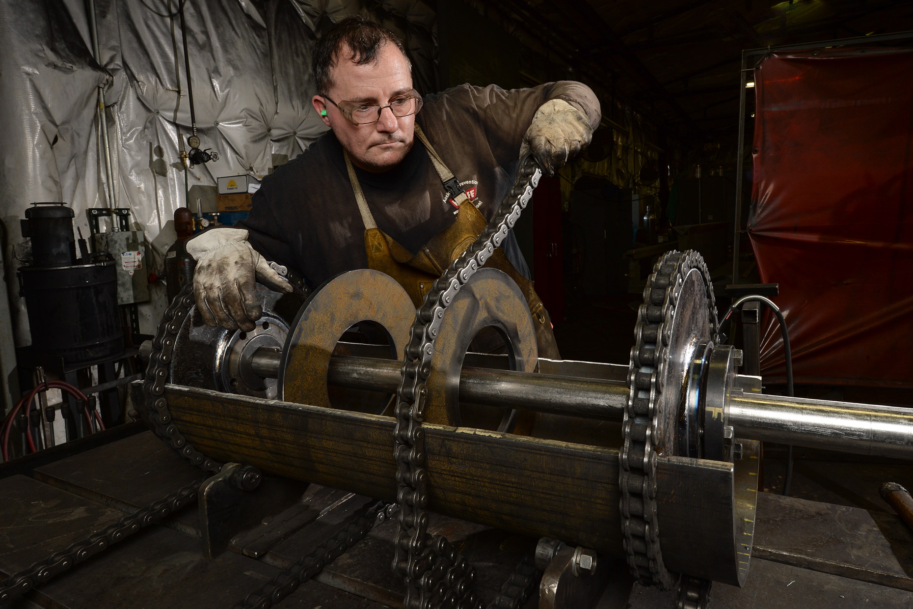 Manufacturing and industrial photographer Dallas Kevin Brown