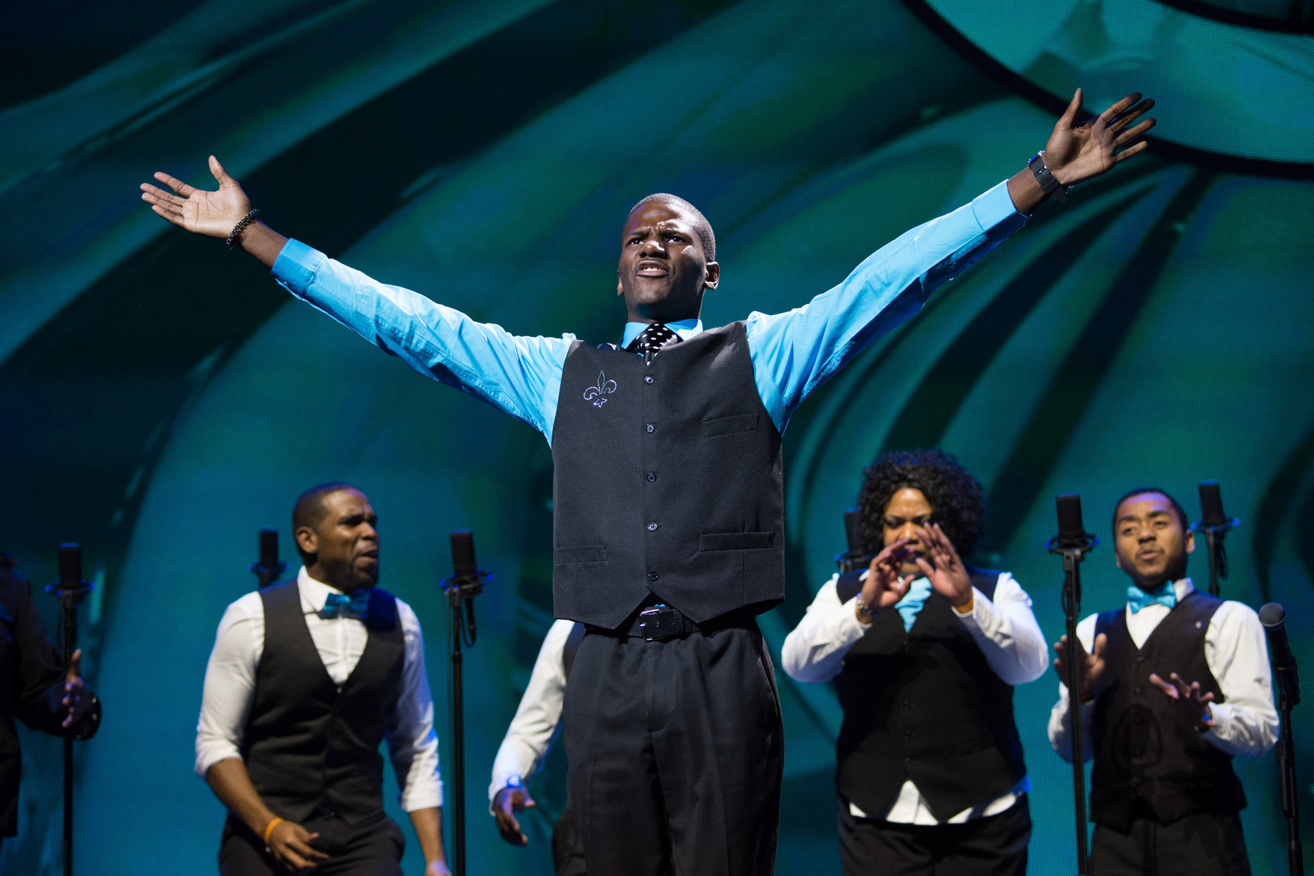 Gospel Choir Competition by Dallas editorial photographer Kevin Brown