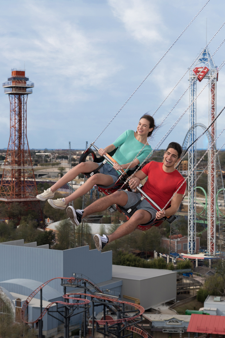 Six Flags Over Texas photography by Kevin Brown