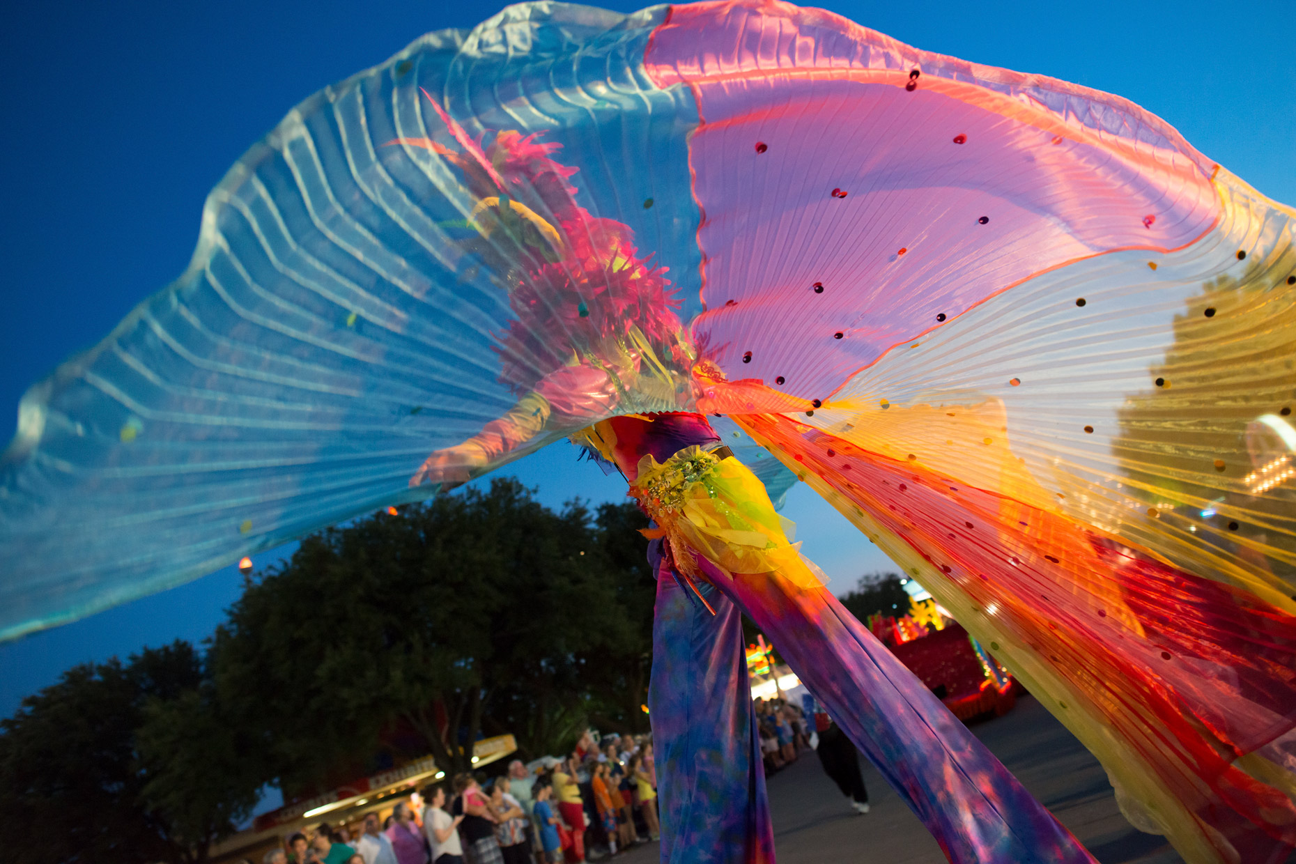 Starlight Parade at The State Fair of Texas. Photography by Kevin Brown