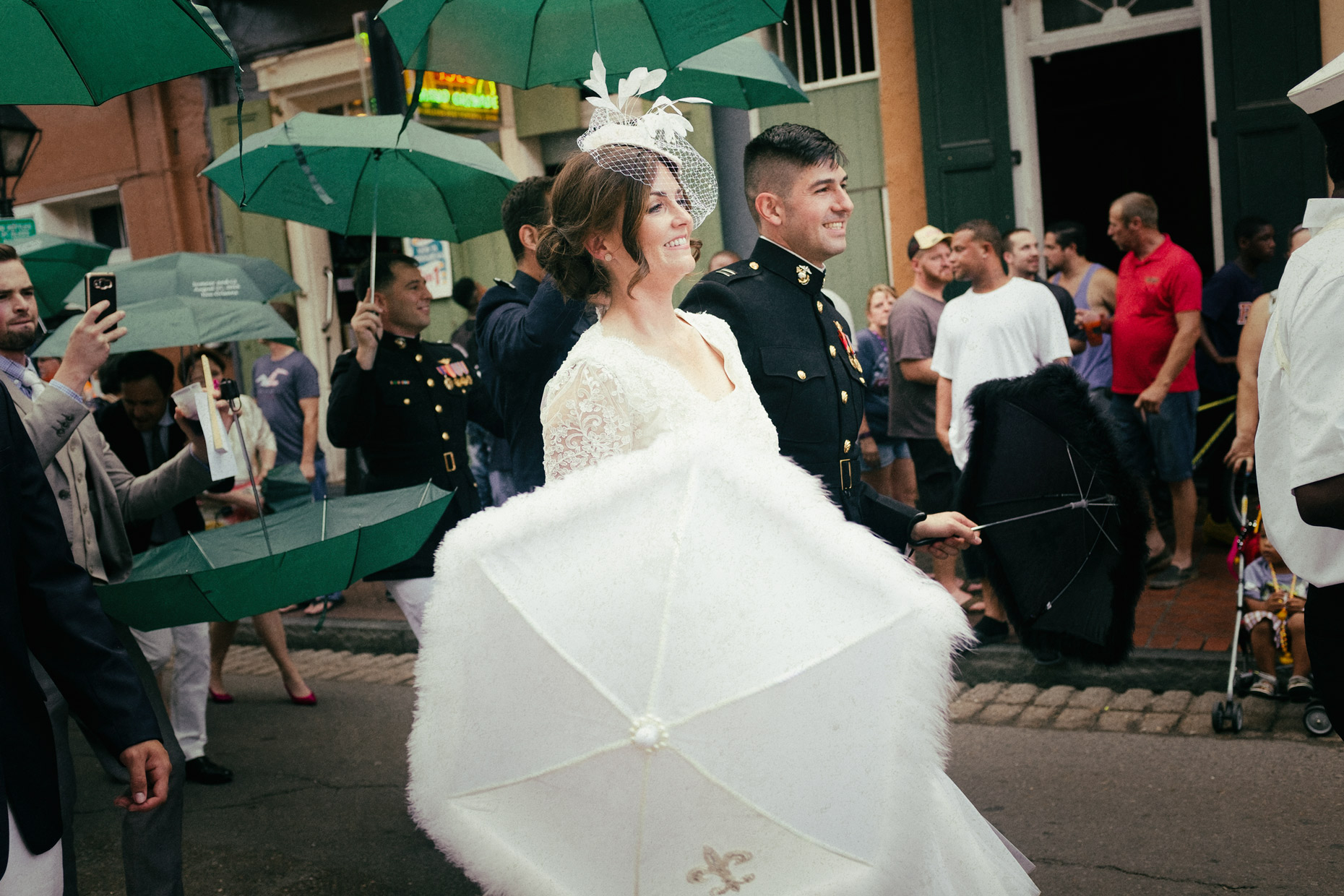 Wedding scene in New Orleans by photographer Kevin Brown