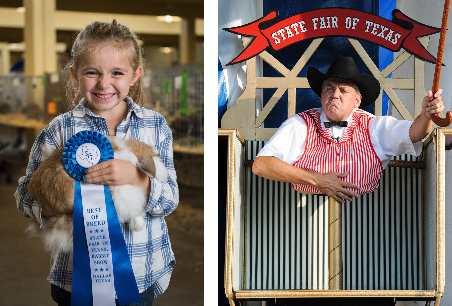 Fun at The State Fair of Texas. Photography by Kevin Brown