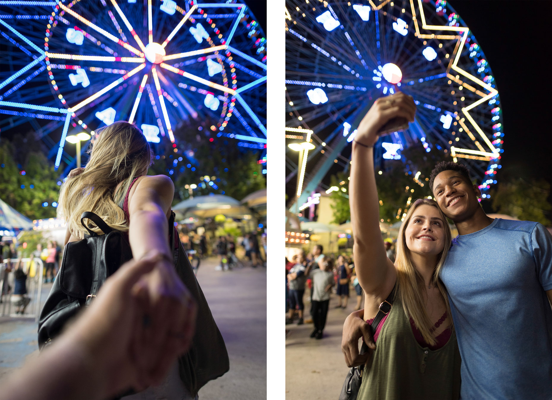 Date night at The State Fair of Texas. Photography by Kevin Brown