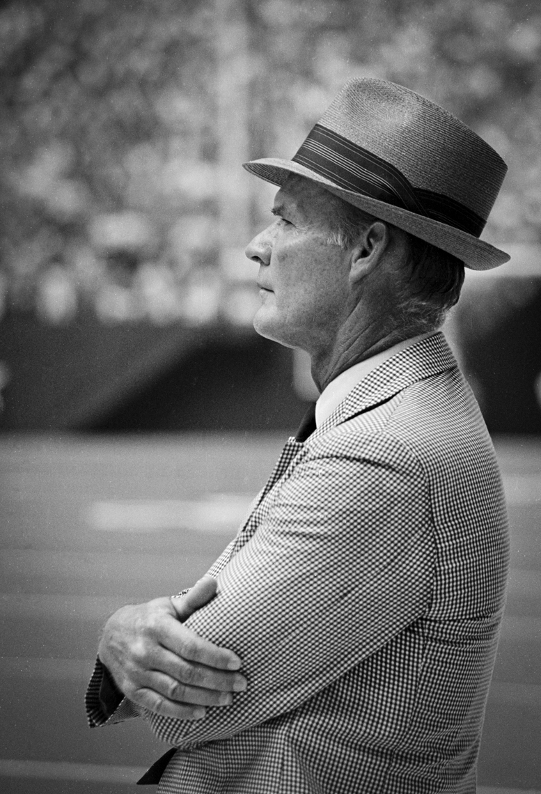 Dallas Cowboys Coach Tom Landry 1981 by Kevin Brown