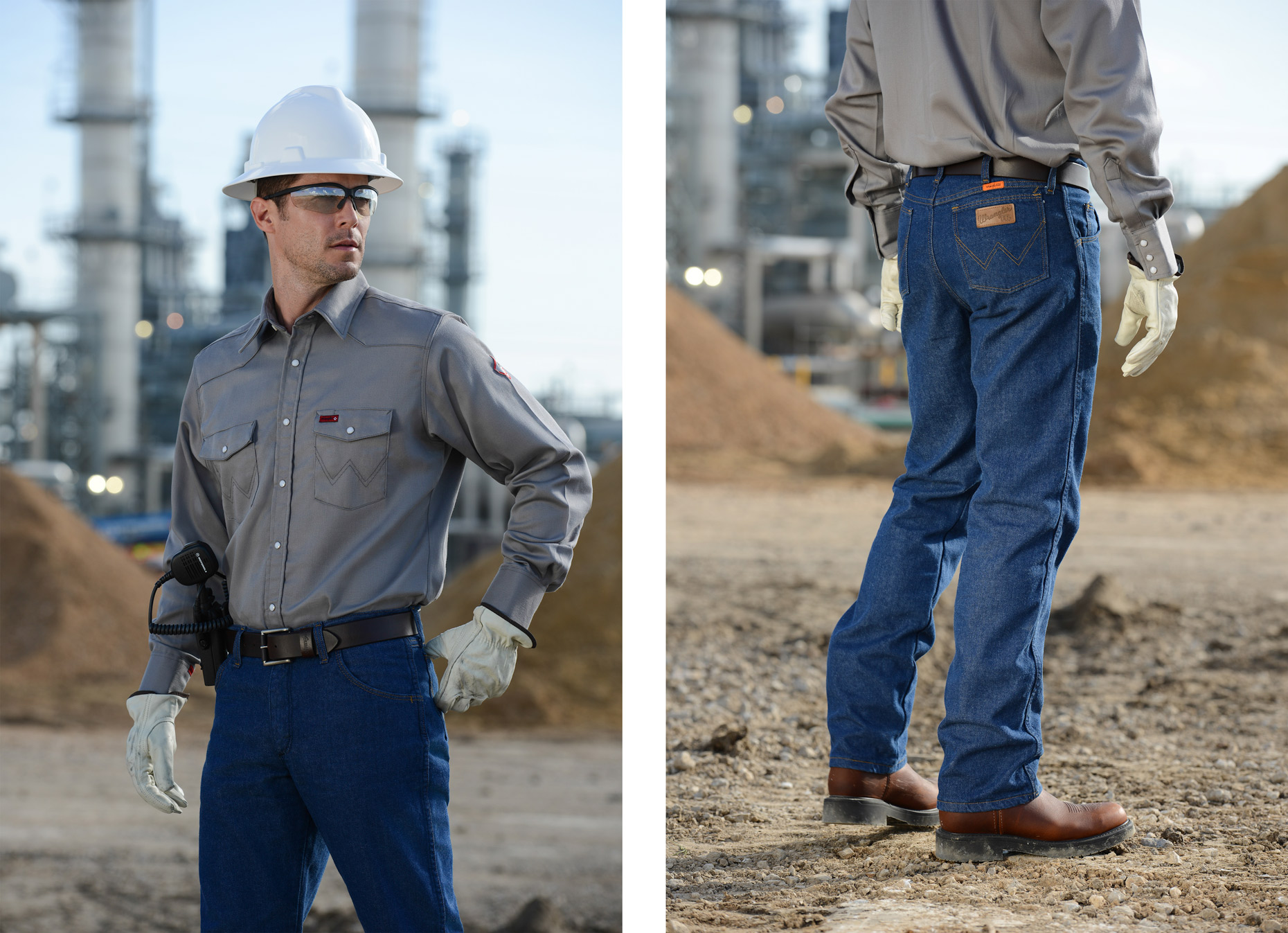 Fashion photography for Wrangler by Dallas photographer Kevin Brown
