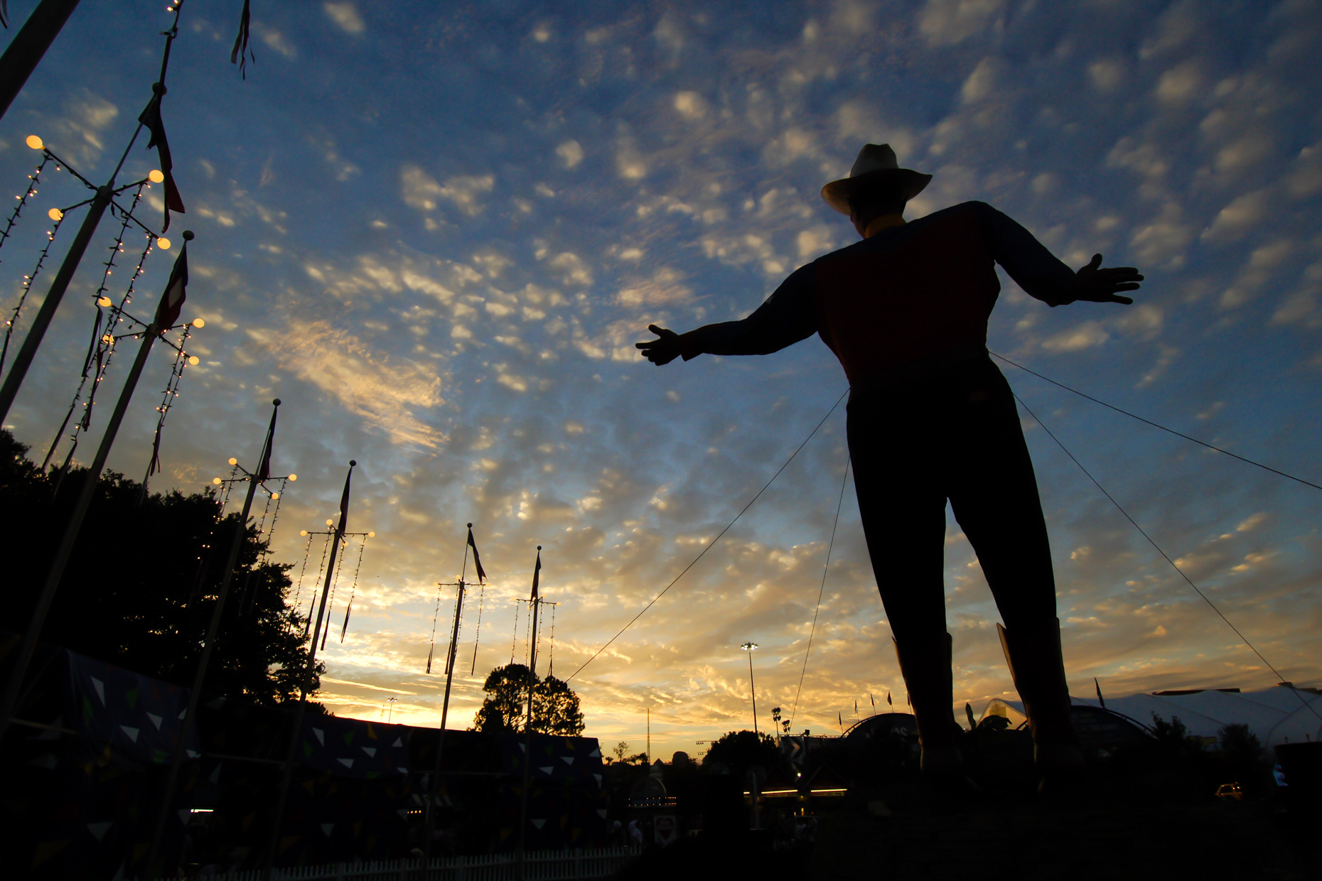 Big Tex at The State Fair of Texas. Photography by Kevin Brown